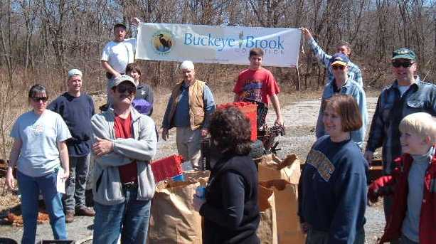 Buckeye Brook Coalition Earth Day Cleanup 2005
